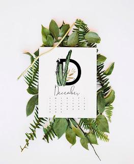 Najpiękniejsze kalendarze i plannery z roślinami na rok 2019.