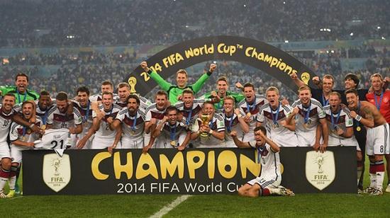 Đức vô địch WC 2014