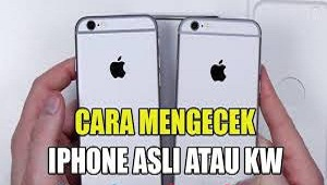 Cara Cek iPhone Asli