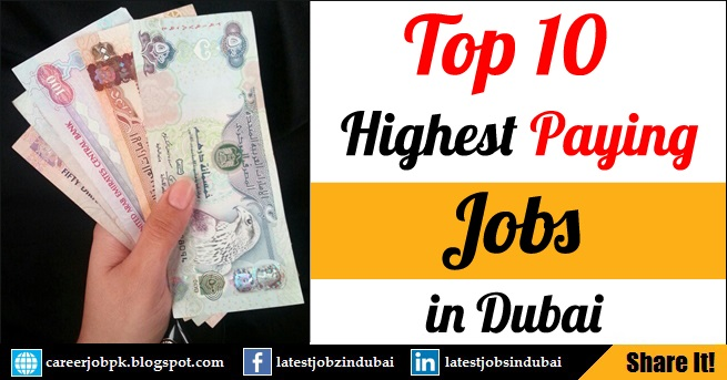 Revealed: Top 20 Highest Paying Jobs in Dubai