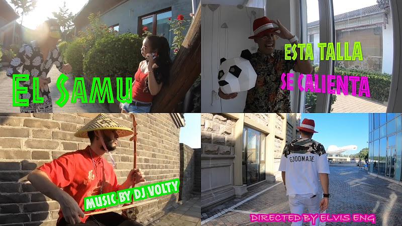 El Samu & Dj Volty - ¨Esta talla se calienta¨ - Videoclip - Director: Elvis Eng. Portal Del Vídeo Clip Cubano