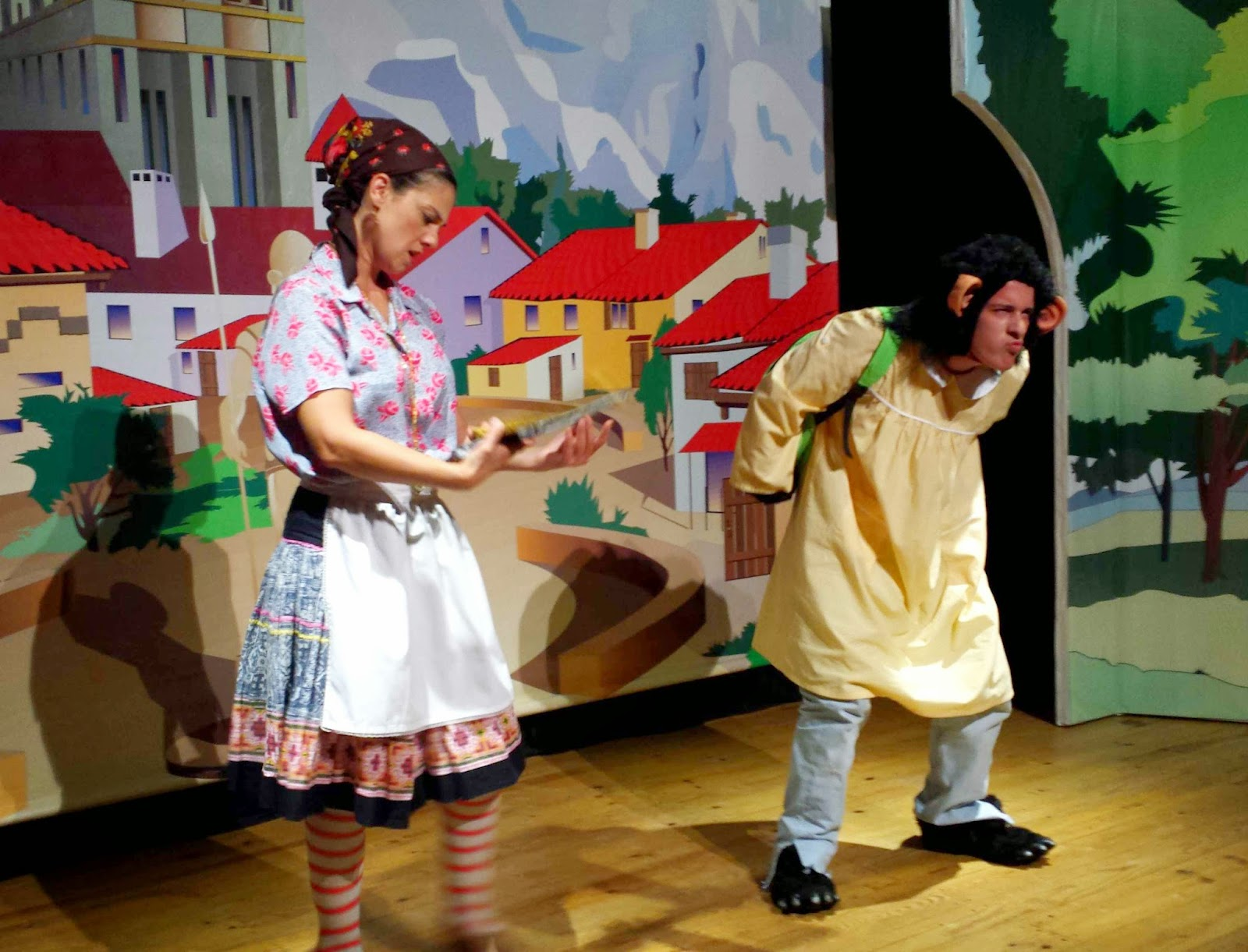 f7e0c4c1e4fae Vida de Mulher aos 40  Teatro Infantil  Macaco do Rabo Cortado