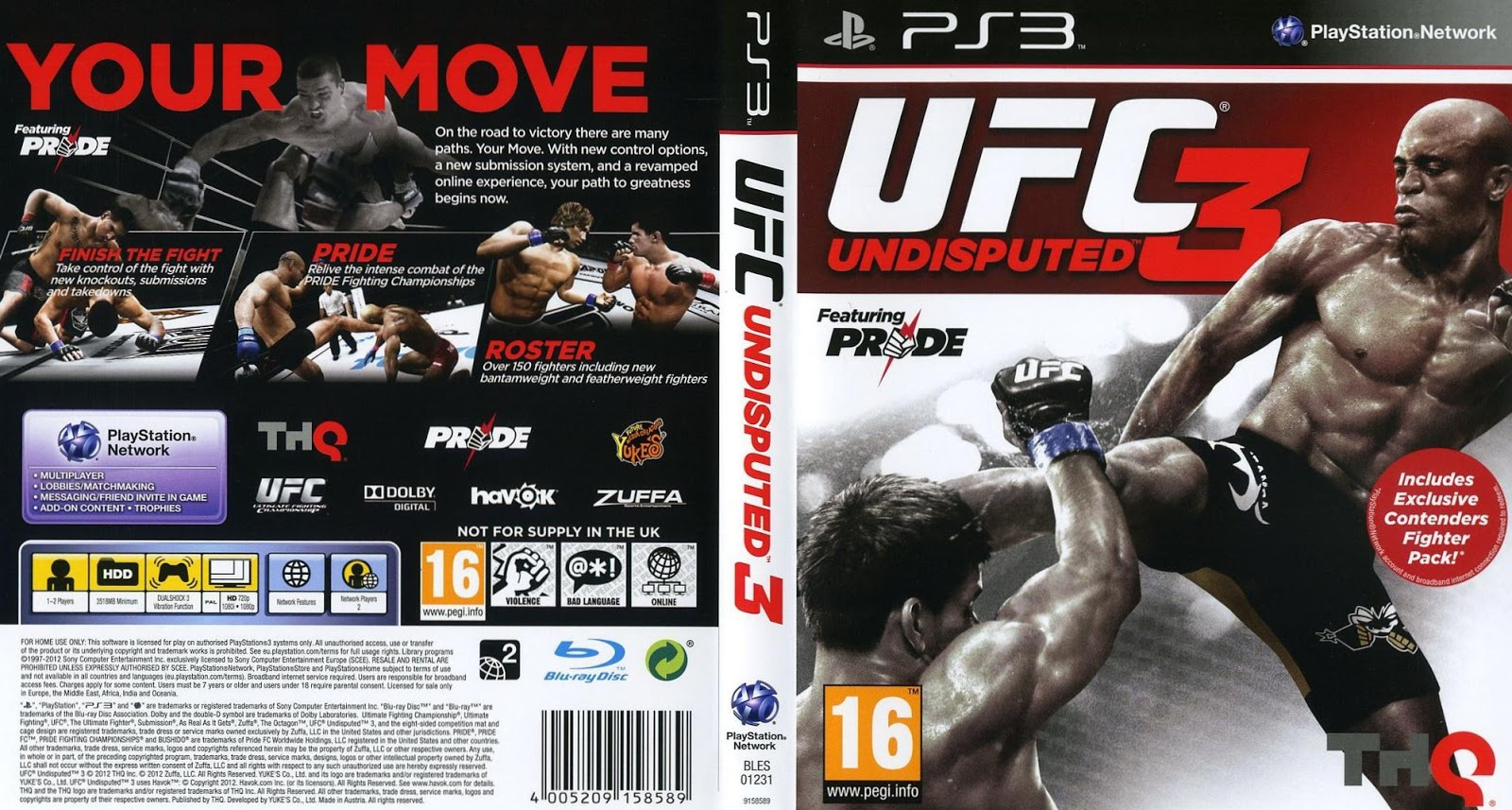 Ufc undisputed 3 online pass free download on xbox 360 ps3.