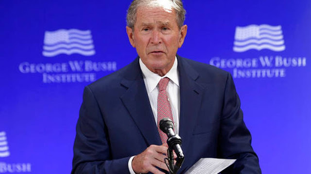 Ex presidente Bush dice que Rusia interfirió con voto en EEUU