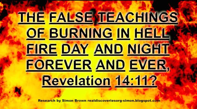 Revelation 14:11?