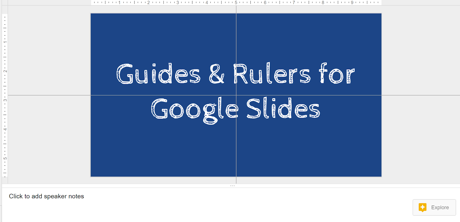 free technology for teachers guides and rulers for google slides