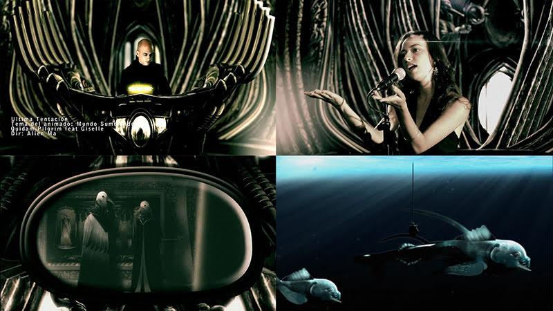Quidam Pilgrim & Giselle Lage Gil - ¨Última tentación¨ - Videoclip / Dibujo Animado - Dirección: Alien Ma. Portal del Vídeo Clip Cubano