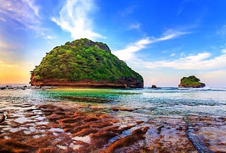 Rute dan Lokasi Menuju Pantai Goa Cina Malang
