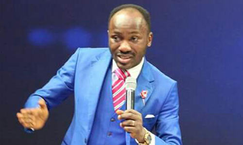 Apostle Johnson Suleiman To Give N1million To Anyone With Information On Murder Of UNIBEN Student