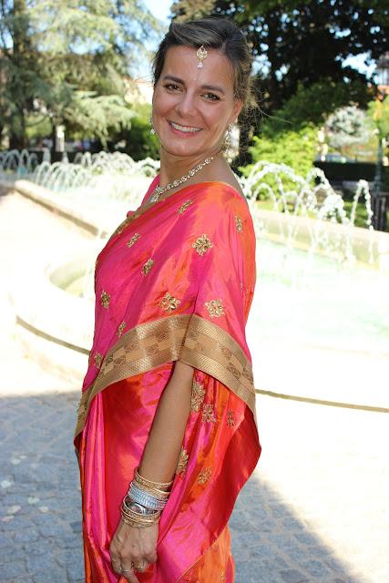 Sari indien, mariage indien, habits traditionnels, look du jour, les petites bulles de ma vie
