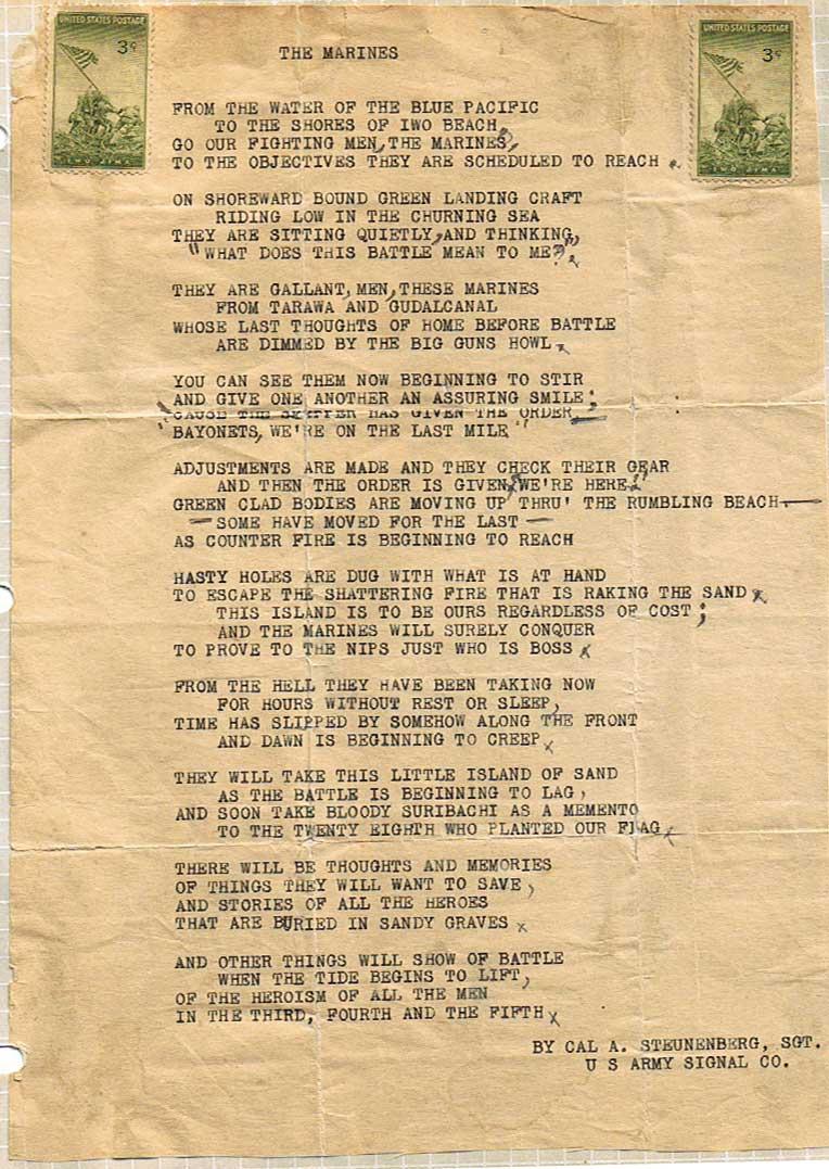 signal corps march lyrics