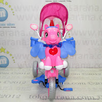 Family F845GT Kuda Poni Suspension Double Music Baby Tricycle