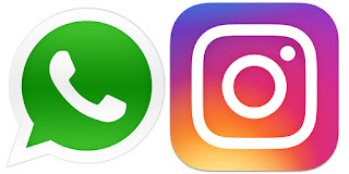 Whatsapp and Instagram Sites down