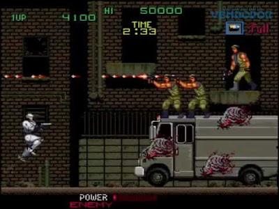robocop arcade