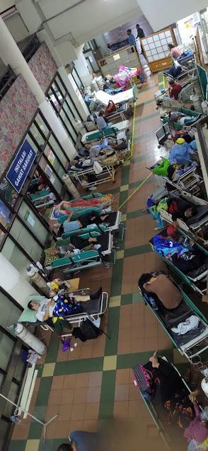 Beredar Foto Pasien IGD RSHS Membludak, Begini Penjelasan Manajemen