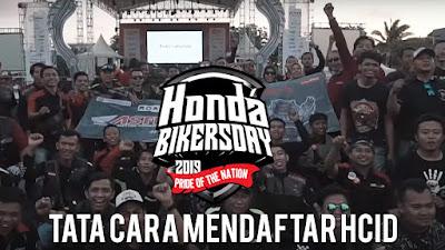 Tata Cara Mendaftar Online Honda Bikers Day Nasional 2019