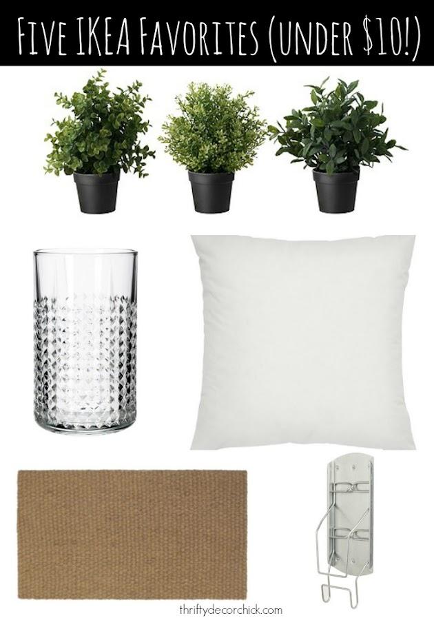 Five IKEA favorites (under $10)