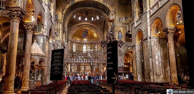 Basílica de São Marcos - O que fazer em Veneza