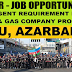 SOCAR - Urgent Requirement for Oil and Gas Projects - Azarbaijan and Baku