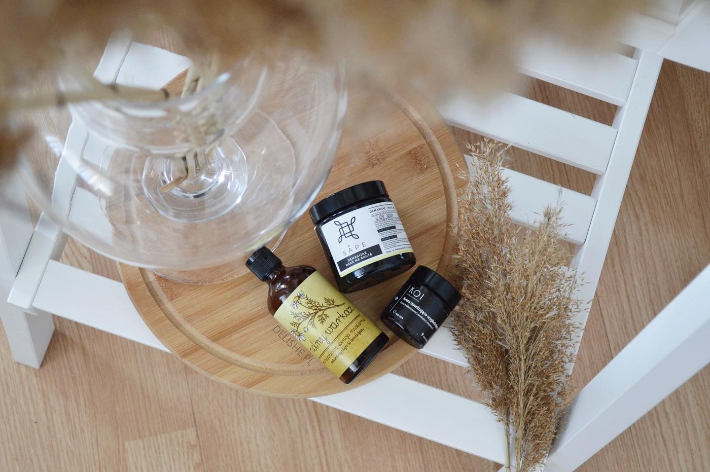 naturalne kosmetyki do pielęgnacji projekt denko