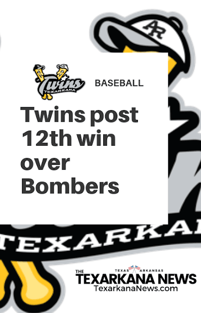 Offense works hard to deliver win for Texarkana Twins over Bombers