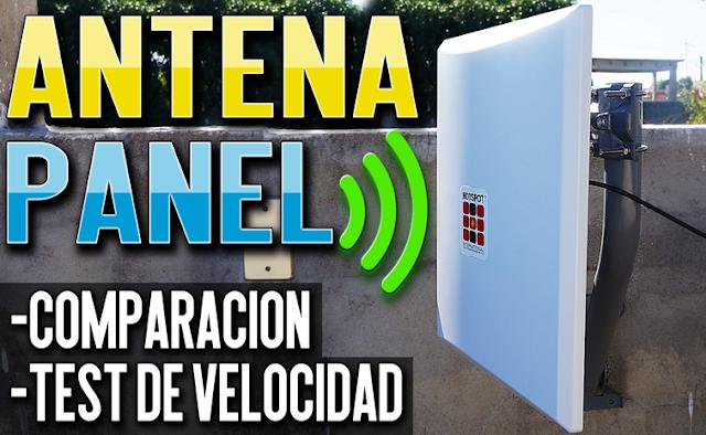 Antena Panel Externa 18dbi para Modem/Router/Access Point/Adaptador Wifi   Comparación + PRUEBAS
