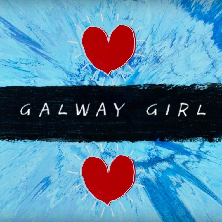 Ed Sheeran Galway Girl Guitar Chords Lyrics Kunci Gitar