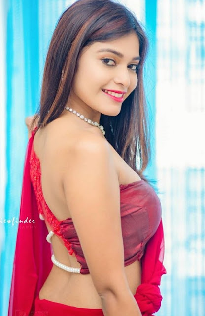 Dharsha Gupta Saree Photos