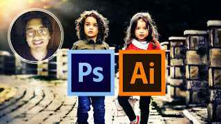Photoshop and Illustrator MasterCourse : 100+ Projects