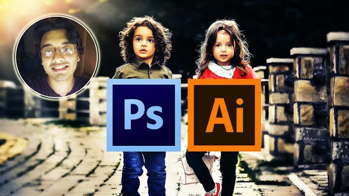 Photoshop and Illustrator MasterCourse : 100+ Projects [Free Online Course] - TechCracked