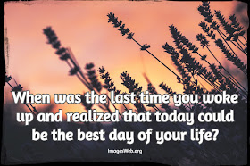 Beautiful Best Day Thoughts