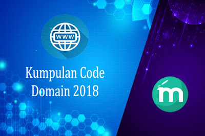 Kumpulan Code Domain 2018