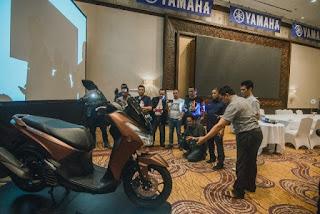Yamaha Lexi Roadshow di Surabaya dan Bali