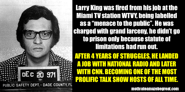 Success Stories From Famous People Who Failed Before Succeeding: Larry King