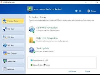 USB Disk Security 6 حمل مجانا نسخة جديدة ومحدثة لنظام التشغيل Windows.