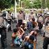 Polisi Amankan 50 Perusuh Unjuk Rasa