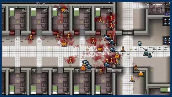 متطلبات لعبة Prison Architect