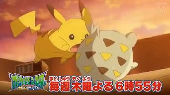 Capítulo 6 Sol y Luna: ¡El espinoso y chocante Togedemaru!