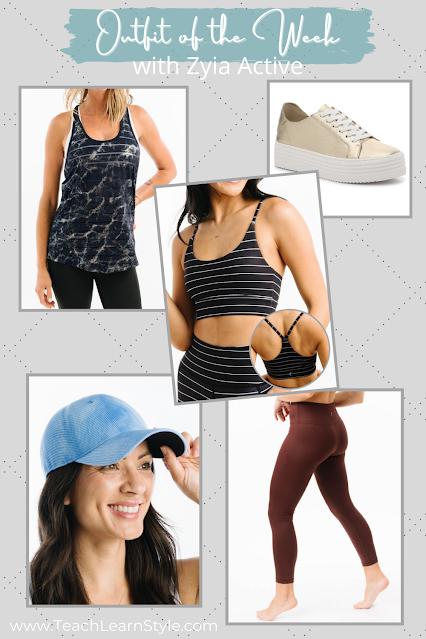 zyia activewear, zyia summer activewear, zyia outfit inspiration, zyia tanks, zyia leggings, zyia sports bras, zyia havana tanks, zyia racerback tanks