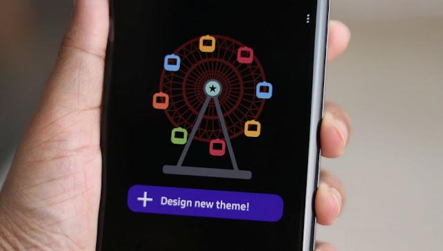 واخيرا يمكنك الان تصميم ثيمك بنفس بواسطة هذا التطبيق!