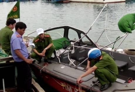 Quảng Ngãi Tàu cá tông xuồng tuần tra trung úy bộ đội biên phòng tử nạn