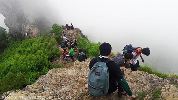 Pico de Loro's terrifying summit ridge