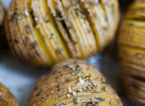 Ziemniaki Hasselback, czyli coś z niczego