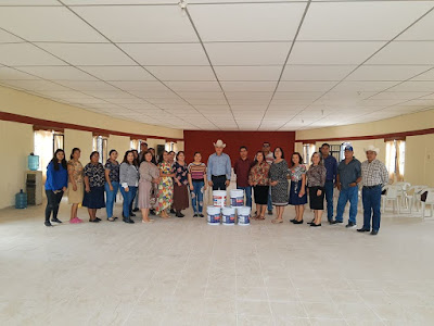 Alcalde Ramón Díaz acude a los festejos del 62 aniversario del ejido Melchor Ocampo de Huatabampo