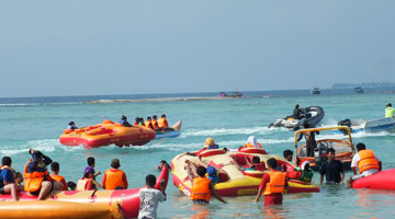 Keindahan Tempat Wisata Pulau Tidung Di Jakarta Keindahan Tempat Wisata Pulau Tidung Di Jakarta