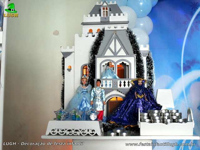 Festa Cinderela - Decoração de aniversário infantil
