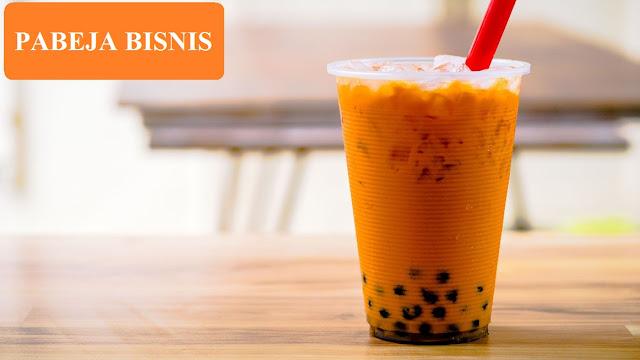 Modal Bisnis Thai Tea