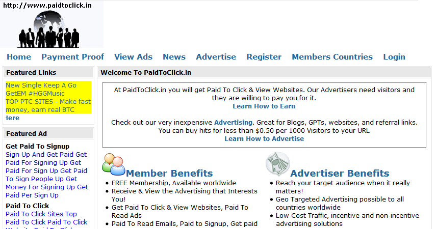 Bitcoin paid to click sites : Dar conjugation command jobs