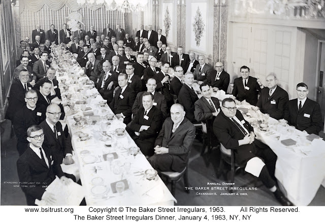 The 1963 BSI Dinner group photo