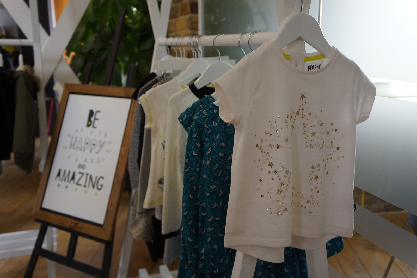 white t shirt with sequin star from fearne cotton boots mini club range